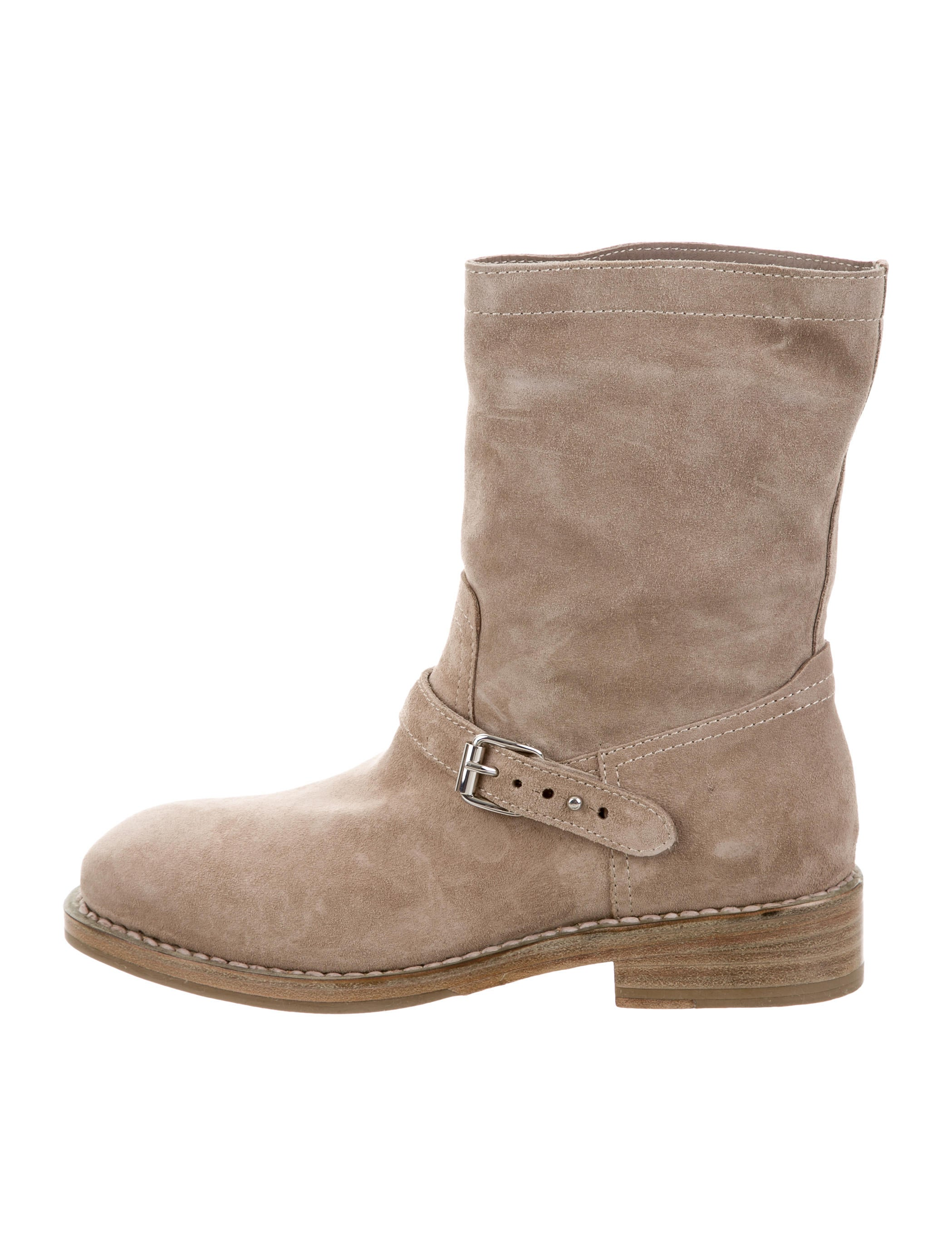 Rag & Bone Suede Oliver Ankle Boots w/ Tags very cheap for sale limited edition for sale free shipping newest free shipping sale 2AUE1