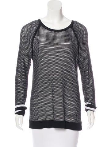 Rag & Bone Open Knit Scoop Neck Sweater w/ Tags None