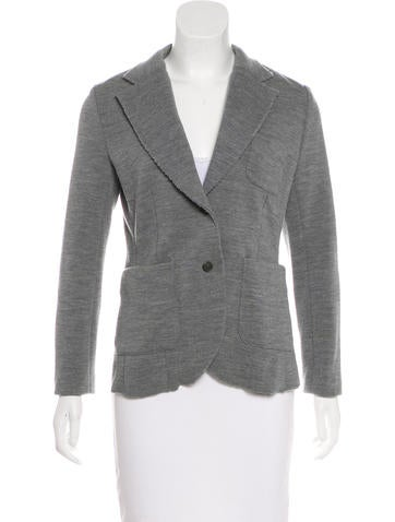 Rag & Bone Wool Knit Jacket None