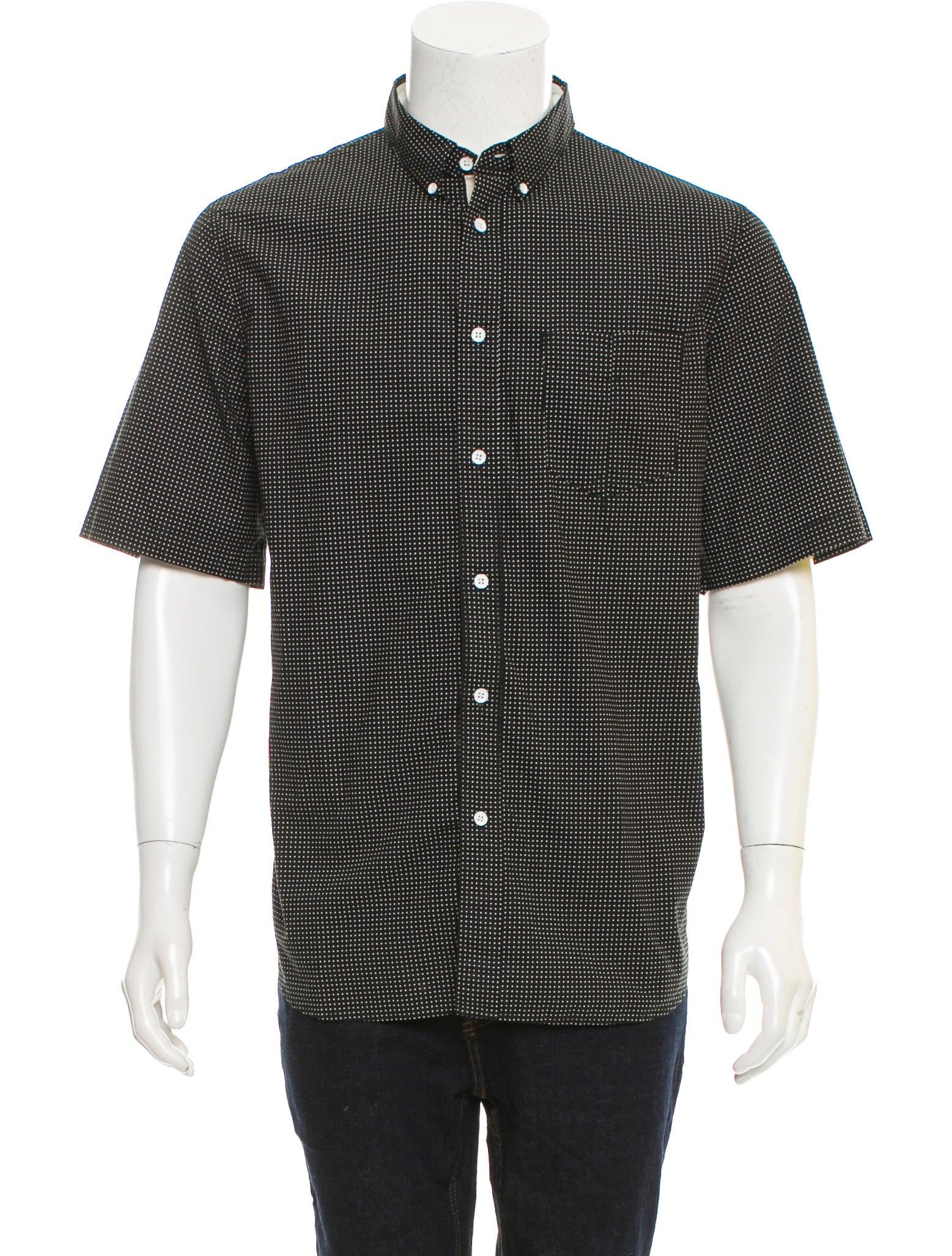 Rag bone polka dot button down shirt clothing for Button down polka dot shirt