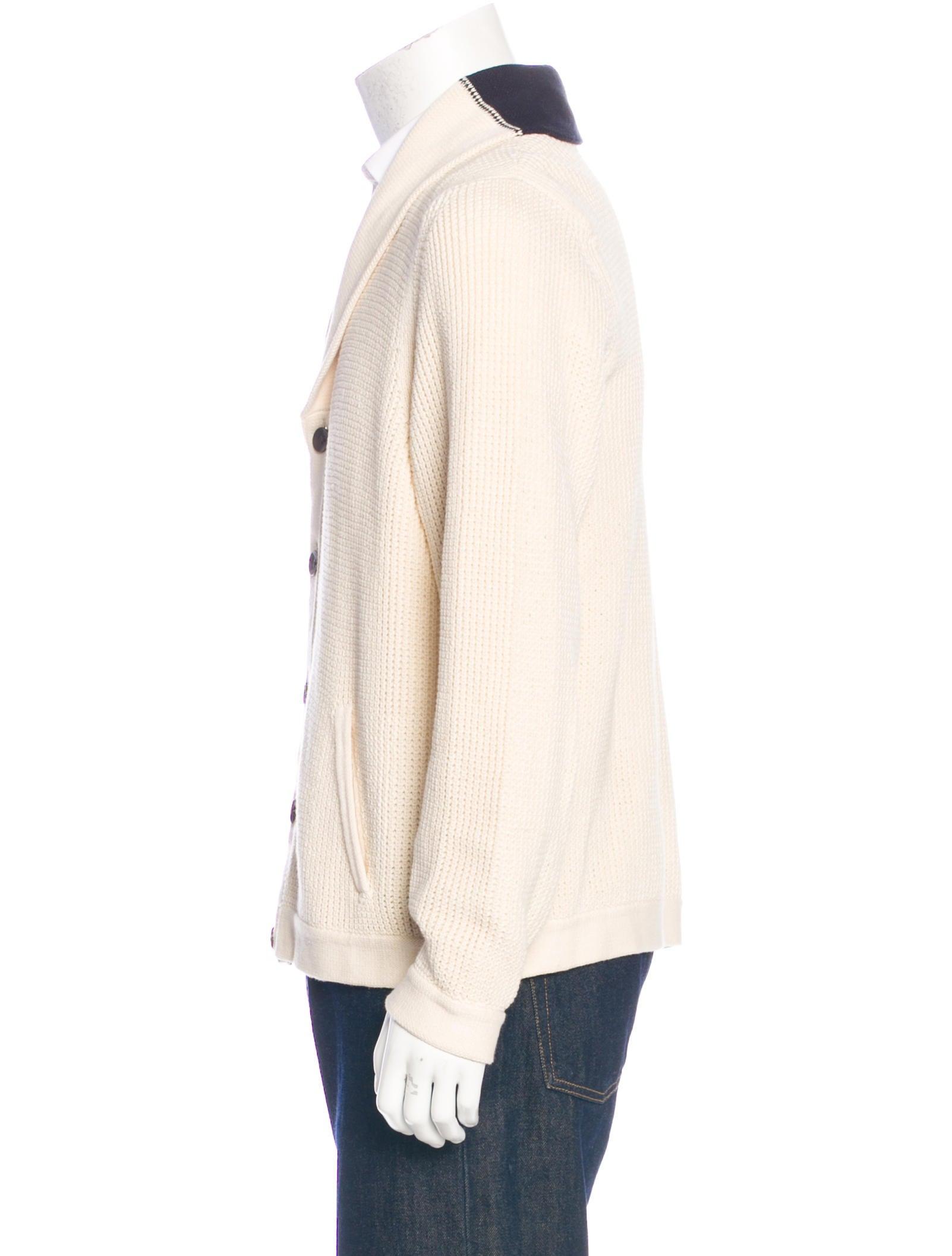 Knitting Cardigan Collar : Rag bone knit shawl collar cardigan clothing