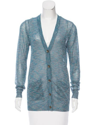 Rag & Bone Long Sleeve Button-Up Cardigan None