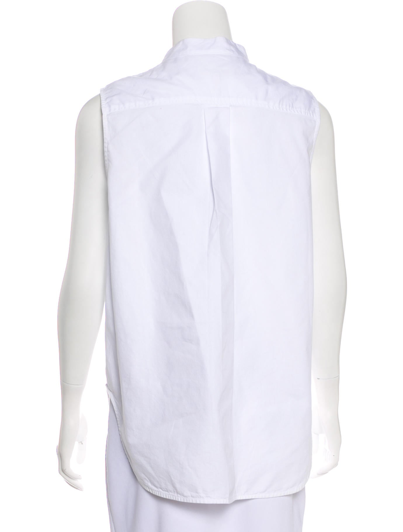 Rag Bone Mock Neck Sleeveless Top Clothing