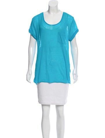 Rag & Bone Short Sleeve Knit Top None