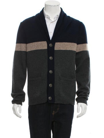 Rag & Bone Wool Shawl Cardigan None