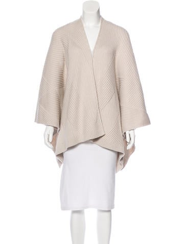 Rag & Bone Wool Knit Poncho None