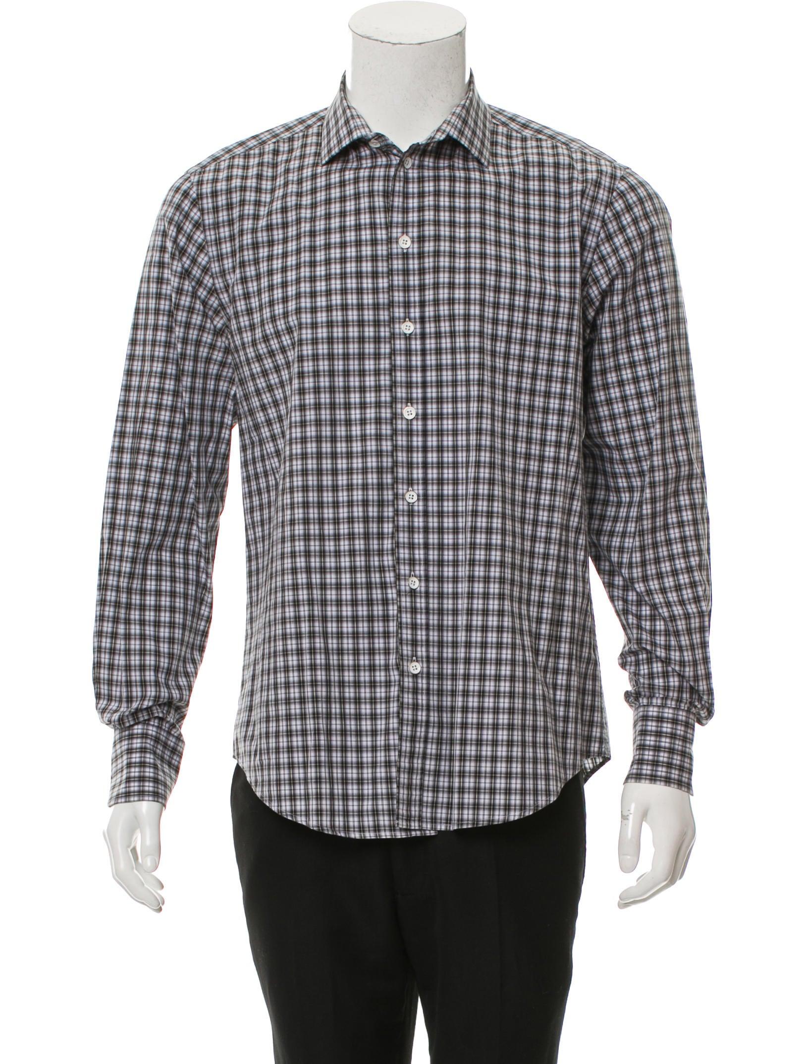 Rag bone plaid button up shirt clothing wragb83355 for Rag and bone mens shirts sale