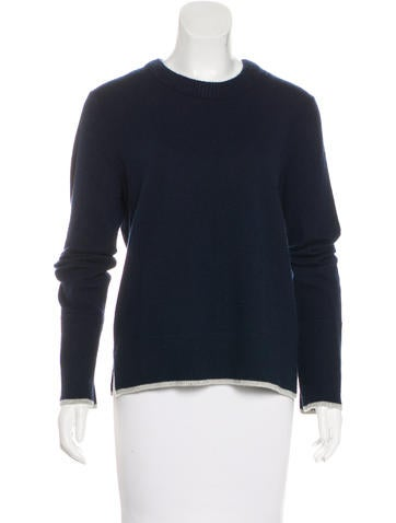 Rag & Bone Cashmere Long Sleeve Sweater None