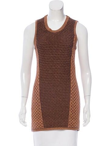 Rag & Bone Textured Sleeveless Sweater None