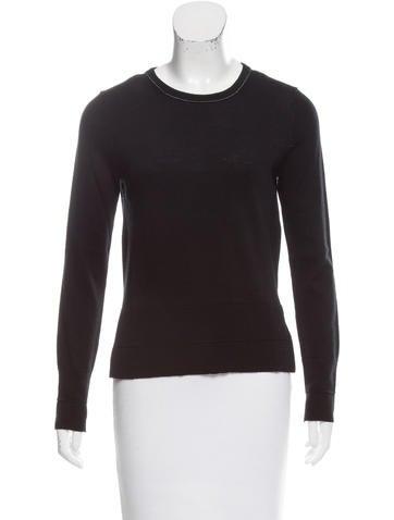 Rag & Bone Wool Long Sleeve Sweater None