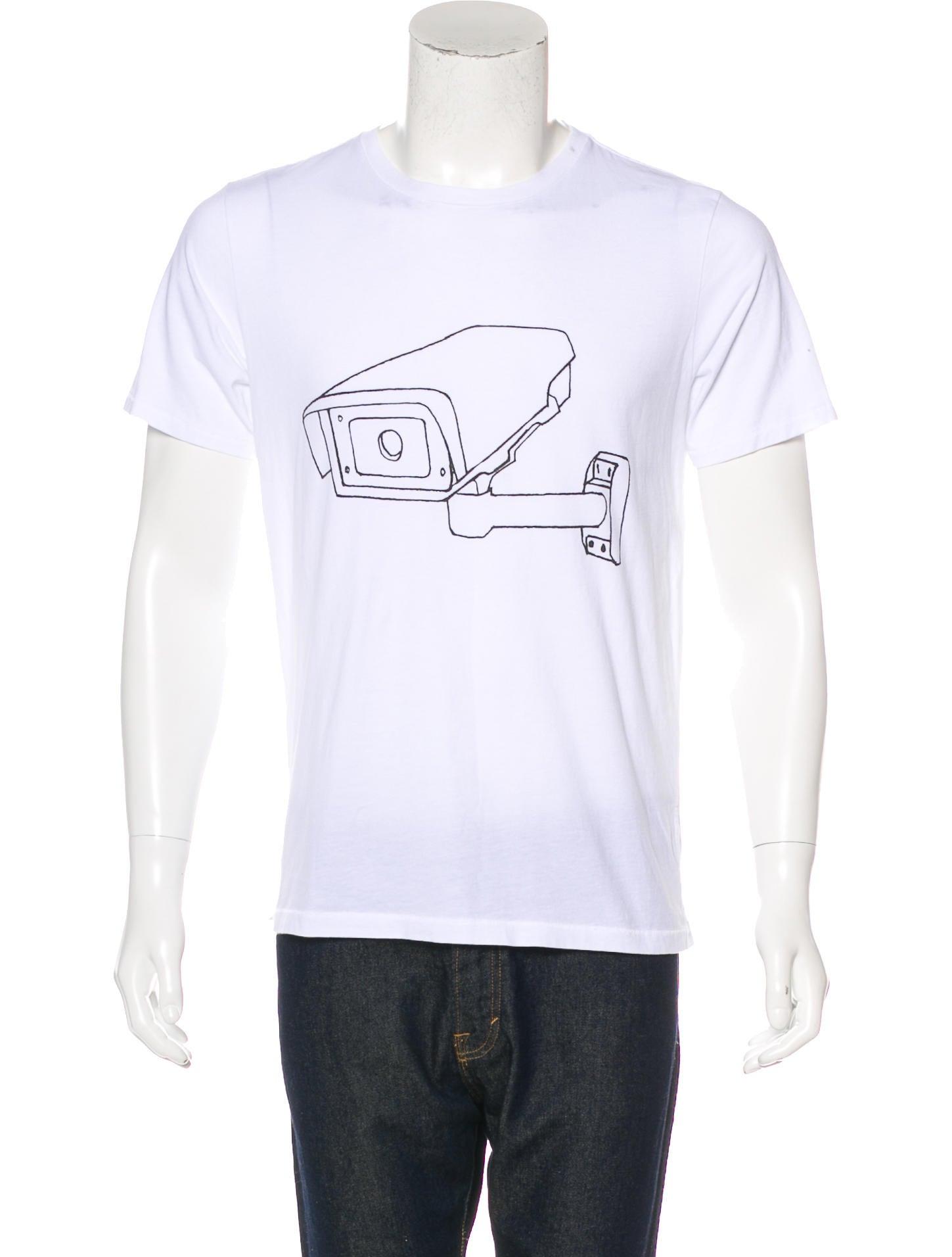 Rag bone graphic t shirt clothing wragb84152 the for Rag and bone white t shirt