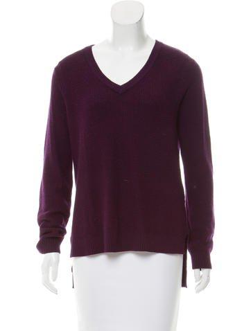 Rag & Bone Long Sleeve Wool Sweater None