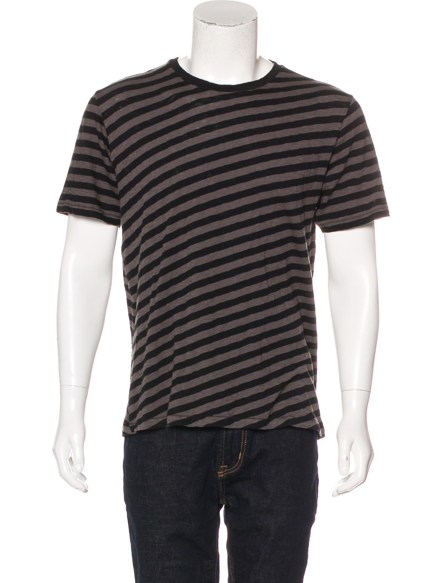 Rag Bone Striped T Shirt W Tags Mens Shirts