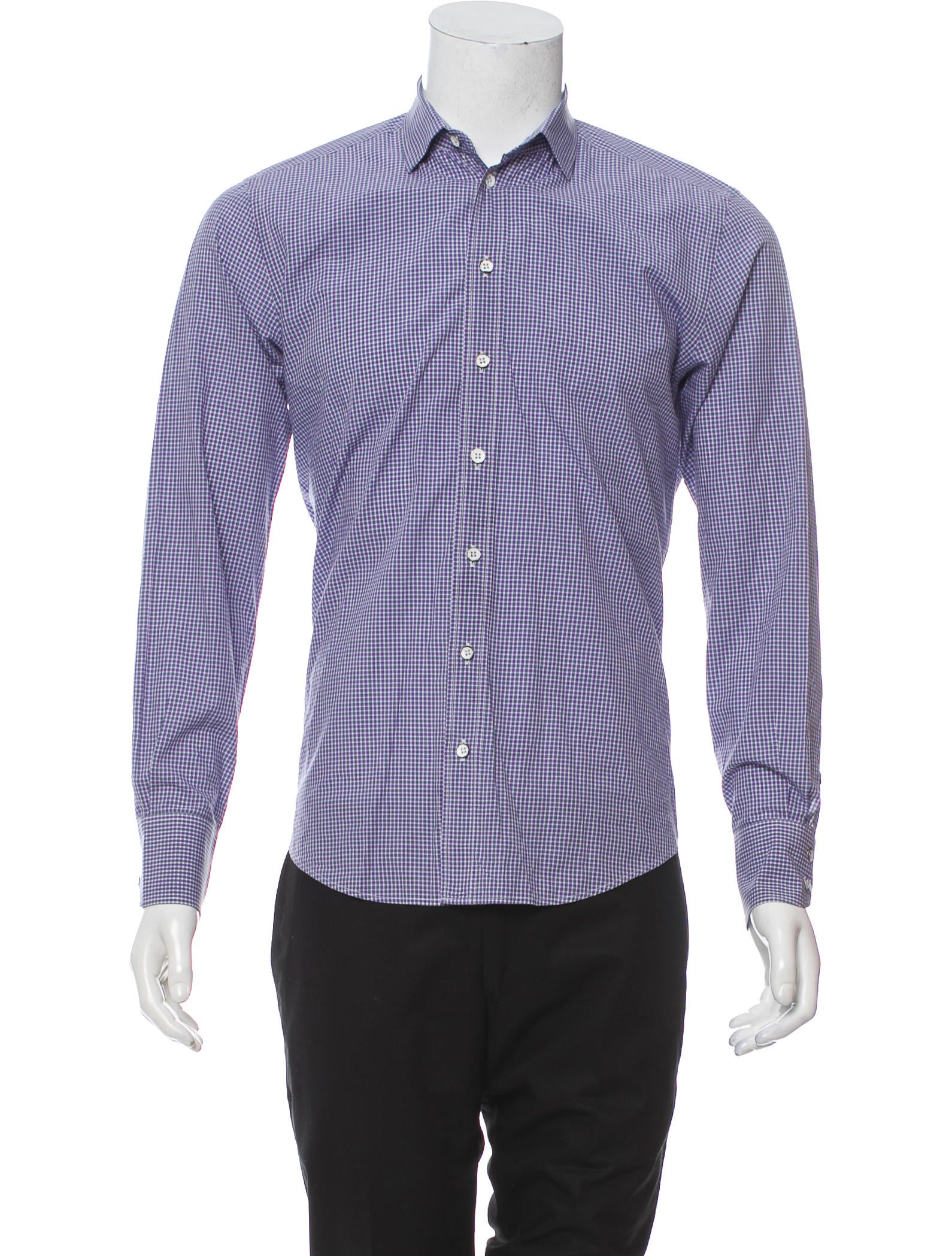 Rag Bone Check Woven Shirt Clothing Wragb85046 The