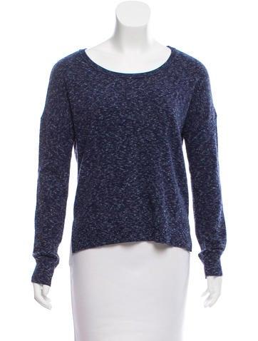 Rag & Bone Mélange High-Low Sweater None