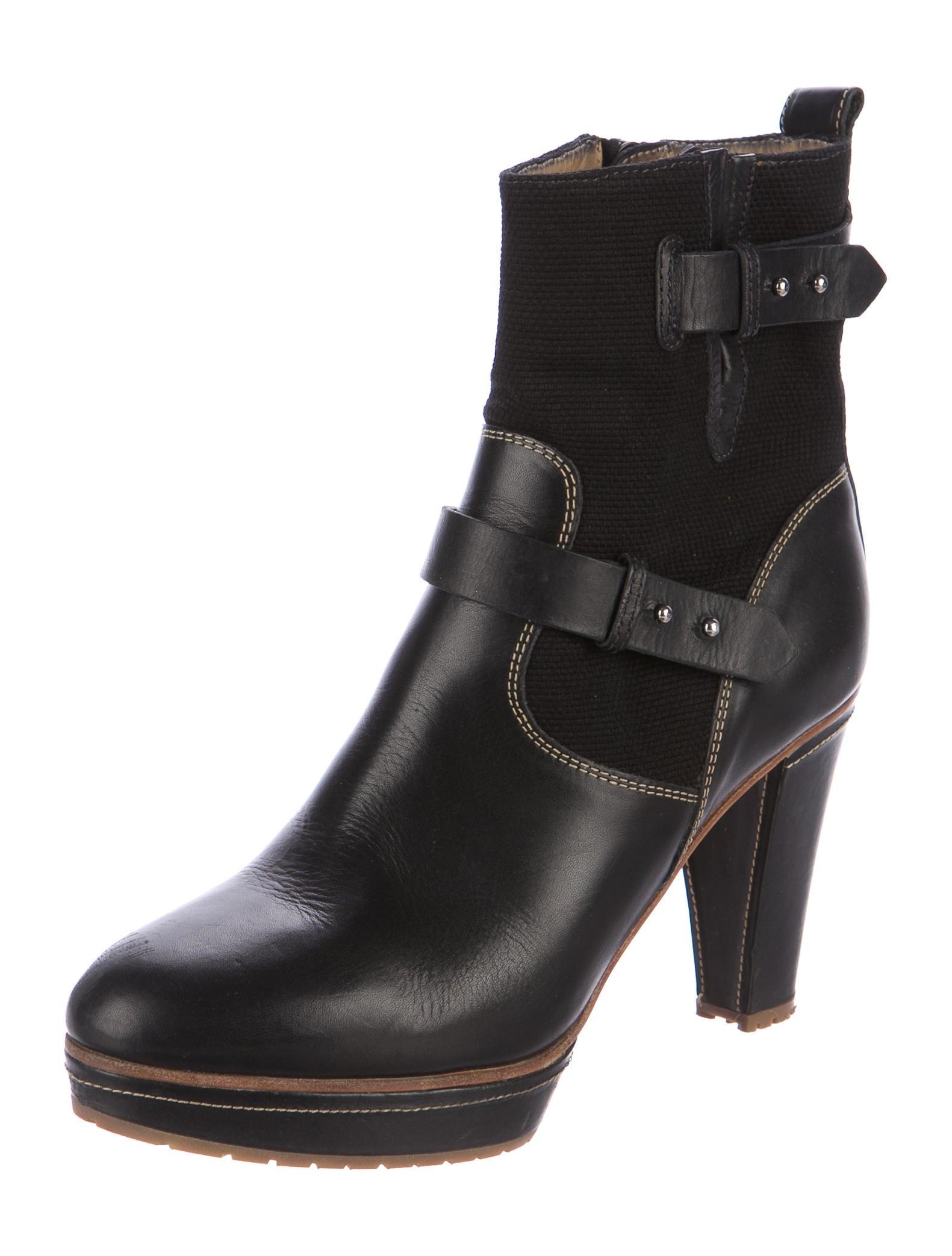 rag bone platform leather ankle boots shoes