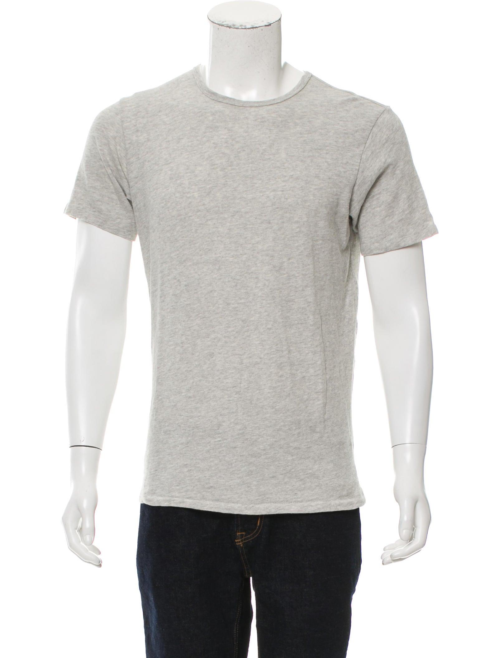 Rag Bone M Lange Crew Neck T Shirt Clothing