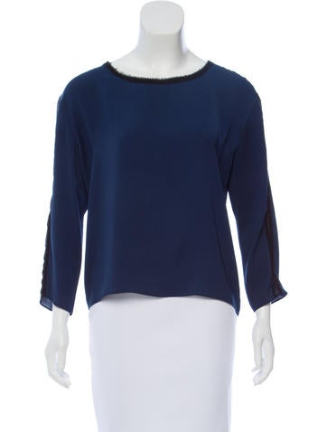 Rag & Bone Wool Rib Knit Top None