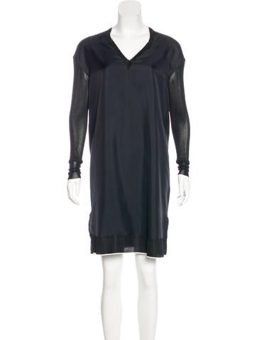 Rag & Bone Silk Knee-Length Dress None