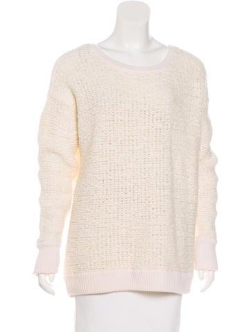 Rag & Bone Wool Textured Sweater None