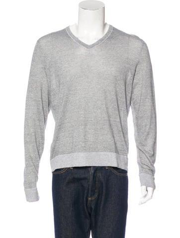 Rag & Bone Linen-Blend Sweater None