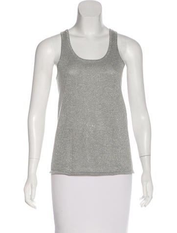 Rag & Bone Metallic Tank Top None