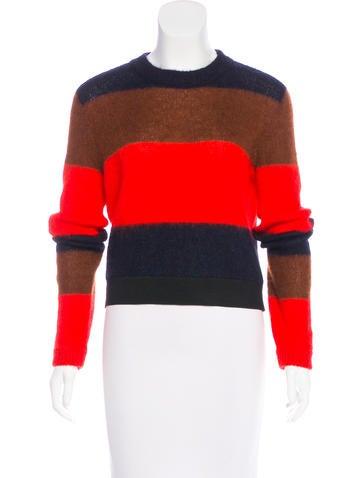 Rag & Bone Colorblock Mohair-Blend Sweater None