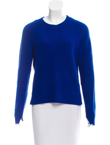 Rag & Bone Long Sleeve Cashmere Sweater None