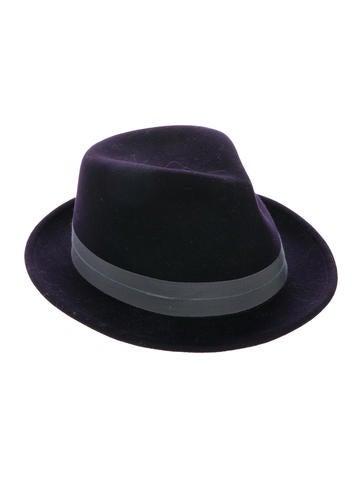Rag & Bone Felt Fedora Hat None