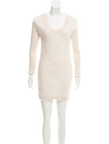 Rag & Bone Angora-Blend Knit Dress None