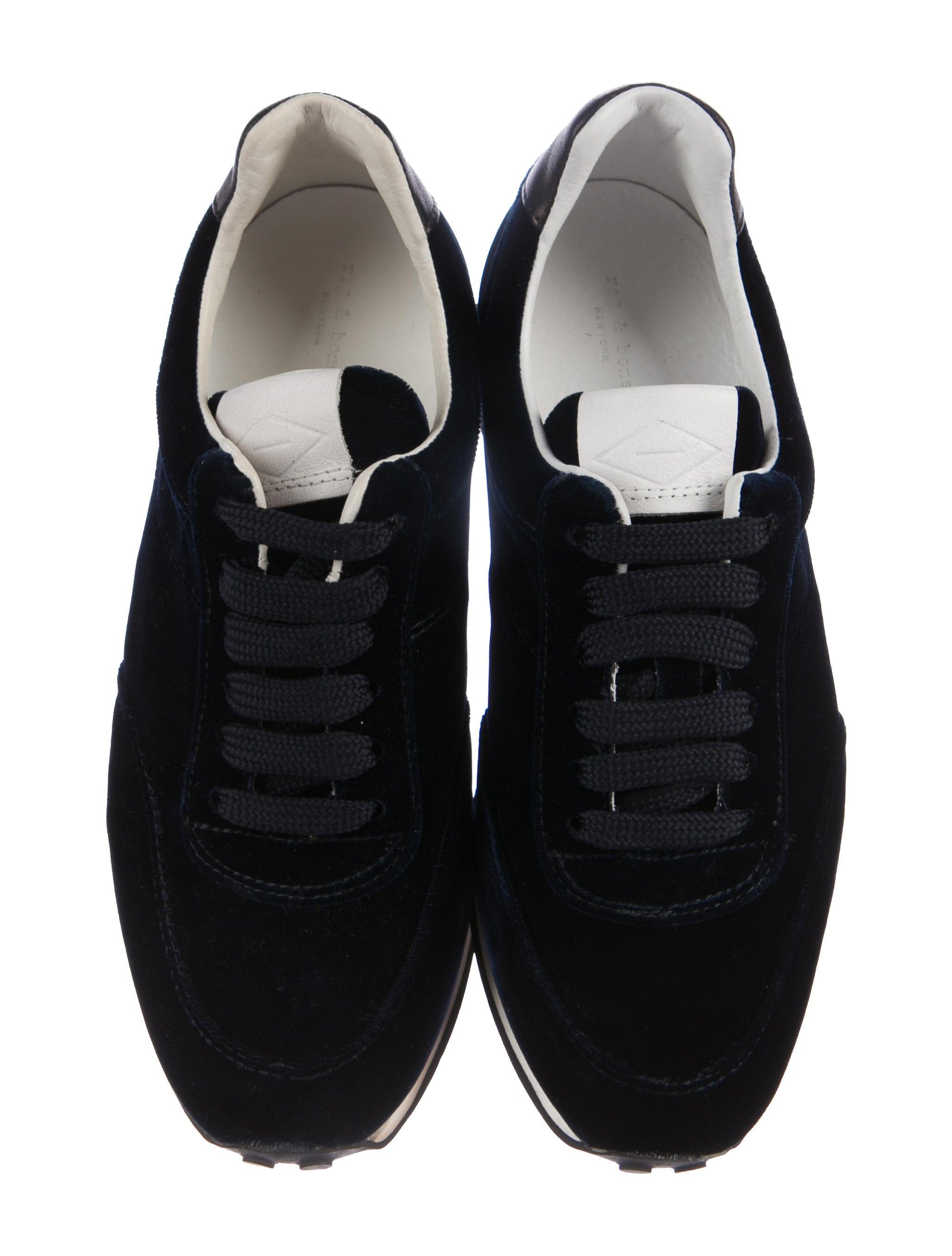 sale cheap online Rag & Bone Dylan Runner Velvet Sneakers w/ Tags websites for sale pkqtNW4