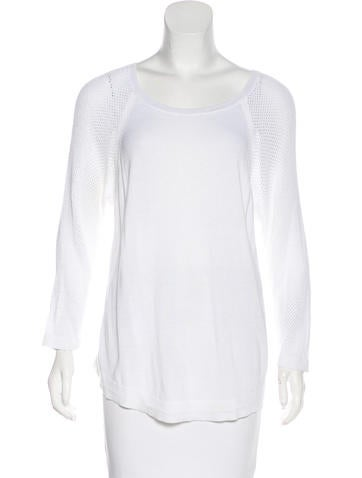 Rag & Bone Knit Netted Top None