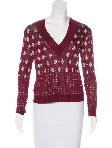Rag & Bone Abigale Intarsia Sweater w/ Tags None