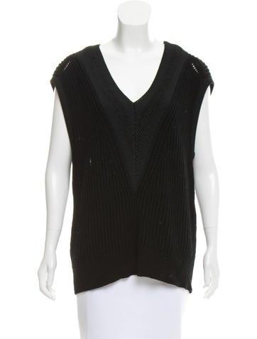 Rag & Bone Knit V-Neck Sweater None
