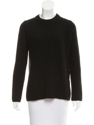 Rag & Bone Wool Rib-Knit Sweater None
