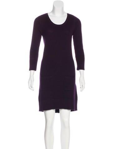 Rag & Bone Long Sleeve Sweater Dress None