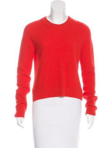 Rag & Bone Crew Neck Cashmere Sweater None