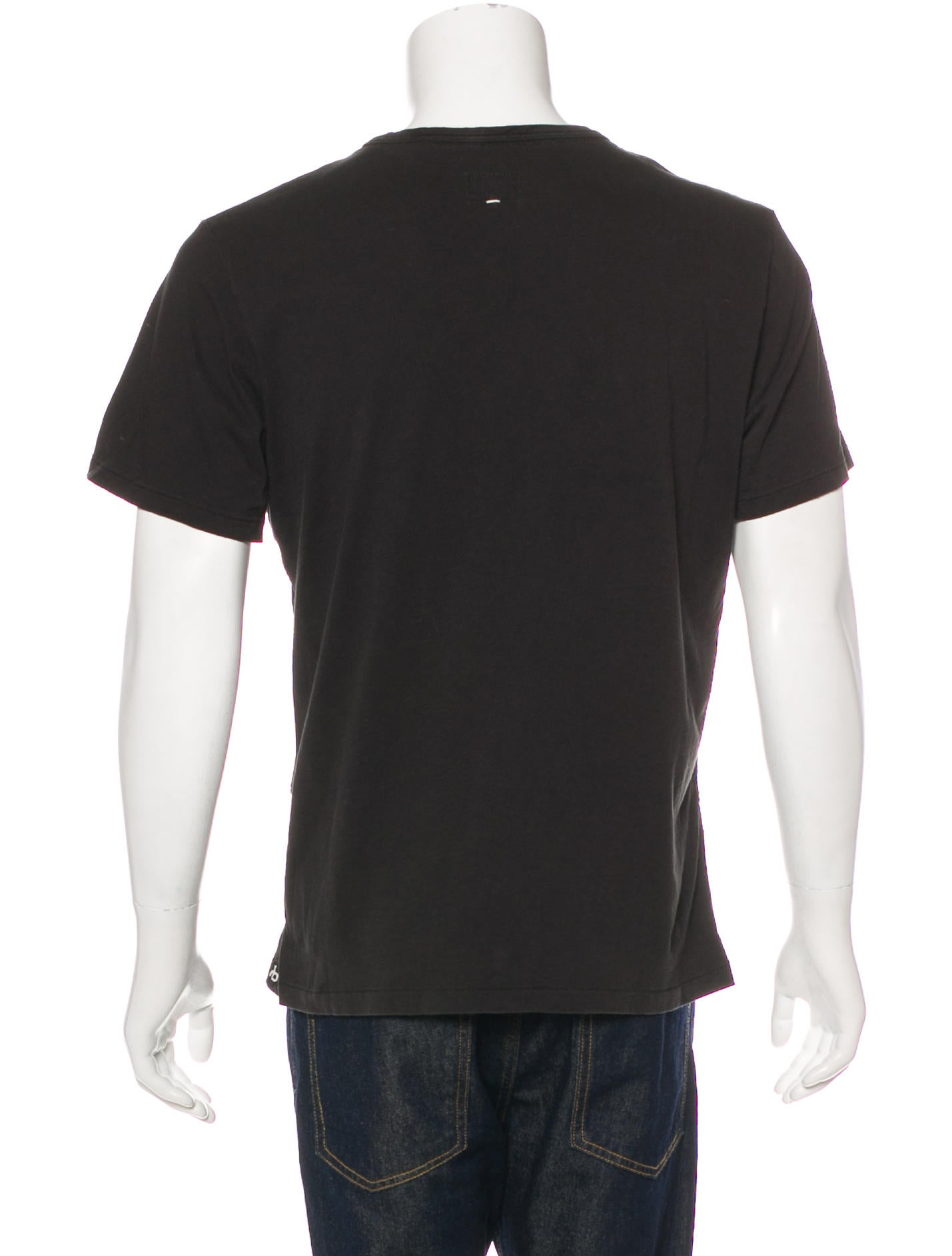 Rag Bone Crew Neck T Shirt Clothing Wragb90232 The