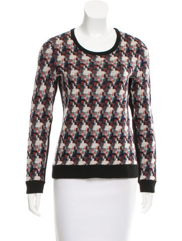 Rag & Bone Wool Patterned Sweater None