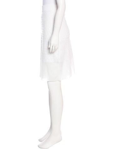 Knit Knee-Length Skirt w/ Tags