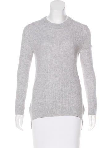 Rag & Bone Rib Knit Cashmere Sweater None