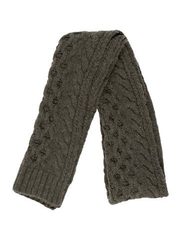 Rag & Bone Wool Knit Scarf None