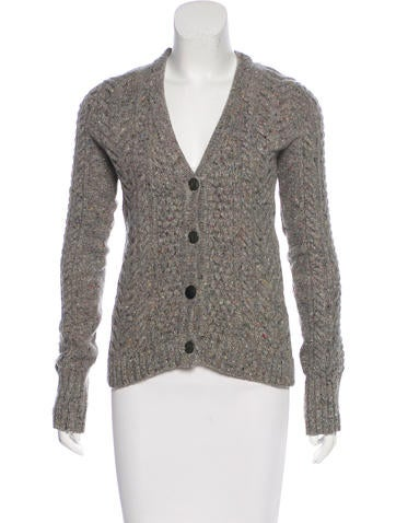 Rag & Bone Wool Mélange Cardigan None