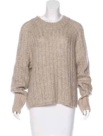 Rag & Bone Textured Cable Knit Sweater None