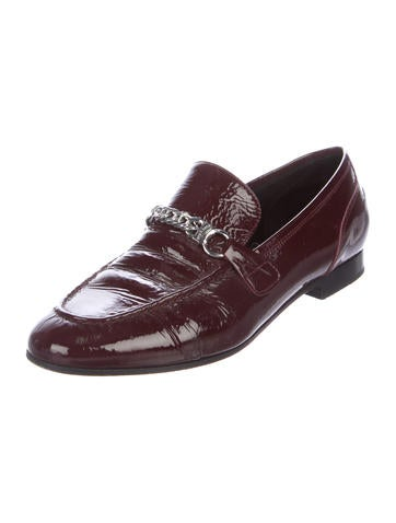 discount low shipping fee amazon online Rag & Bone Patent Leather Chain-Link Loafers free shipping outlet KNTCG8vV