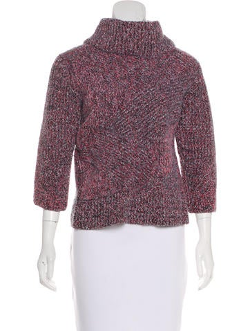 Rag & Bone Rib Knit Turtleneck Sweater None