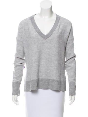 Rag & Bone Wool High-Low Sweater None