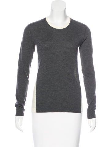 Rag & Bone Colorblock Wool Sweater None