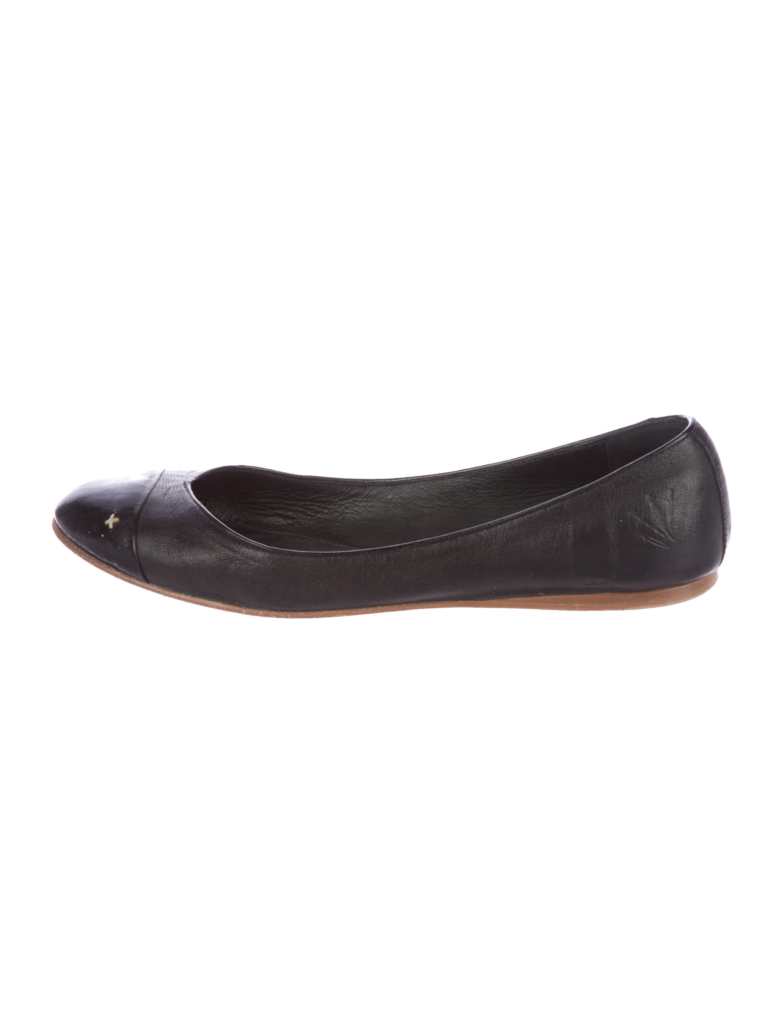 Rag & Bone Leather Cap-Toe Flats for nice cheap price outlet sale online uFhWJIe6z
