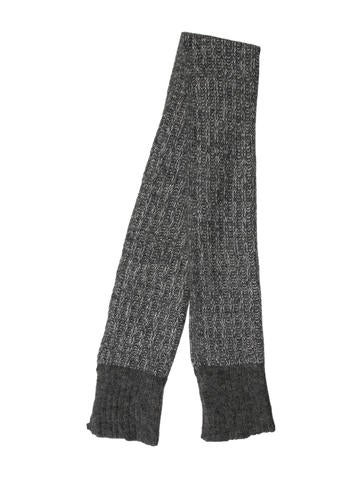 Rag & Bone Rib Knit Scarf None